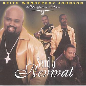 Keith Wonderboy Johnson - Send en Revival [CD] USA import