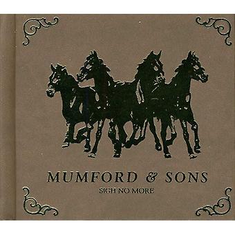 Mumford & sønner - suk No More-[CD] USA import