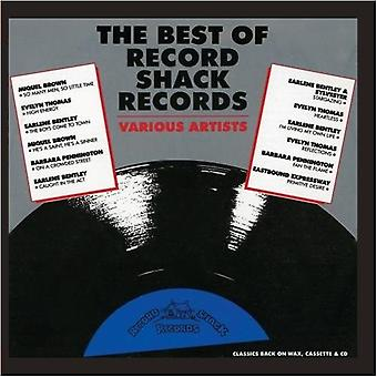 Meilleur du label Shack Records - Best of Record Shack Records [CD] USA import