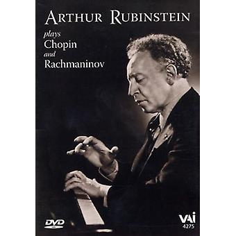 Artur Rubinstein - Arthur Rubinstein Plays Chopin & Rachmaninoff [DVD] USA import