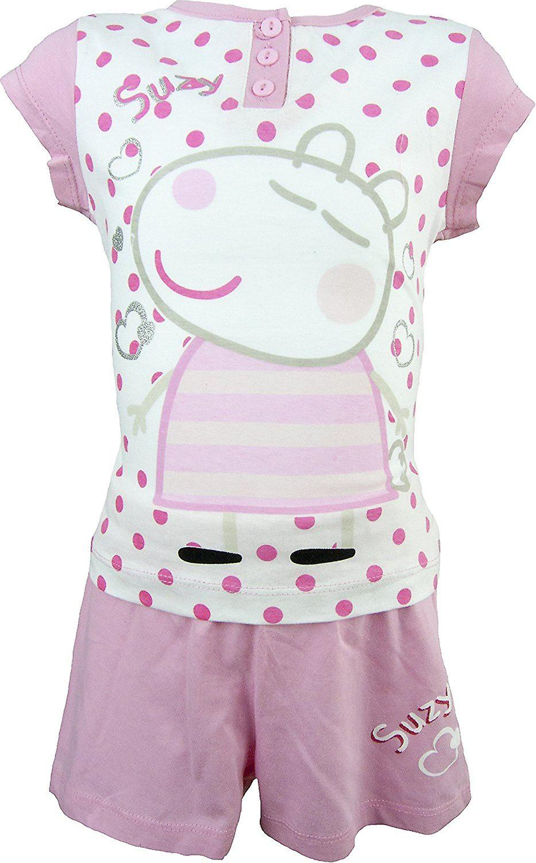 Mädchen Peppa Pig Pyjama Set – im Feld