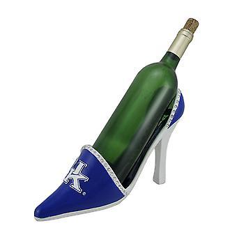 NCAA University of Kentucky UK High Heel Shoe Wine Bottle Holder