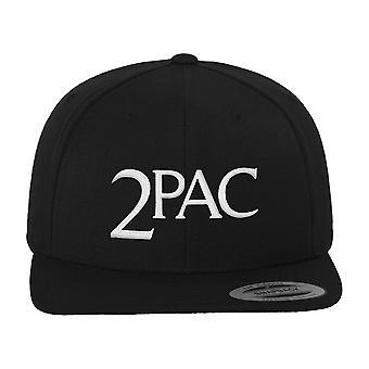Merchcode Snapback gorra - 2Pac negro A.E.O.M.