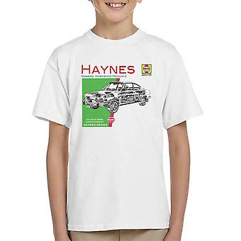 Haynes Owners Workshop Manual 0303 Skoda 110R Kid's T-Shirt