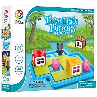 Smart spil tre små Piggies Deluxe puslespil
