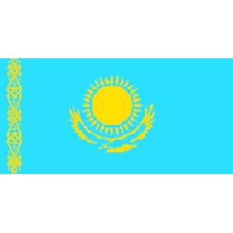 Kazakhstan Flag 5ft x 3ft With Eyelets For Hanging