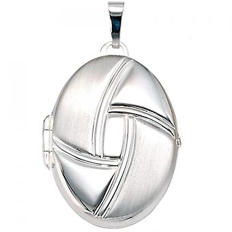 925 S Medallion Medallion Silver 925 sterling silver Silver Oval Locket