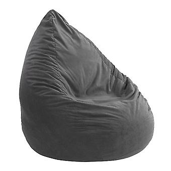 Coussin de sac d'haricot Microvelour Chillkissen ANTHRACITE 110 x 70 x 70 cm