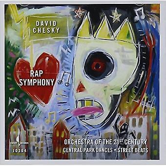 David Chesky - Rap symfoni [CD] USA import