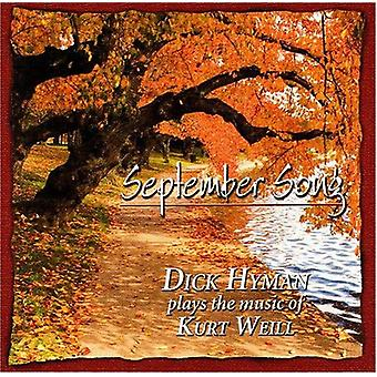 Dick Hyman - September Song [CD] USA import