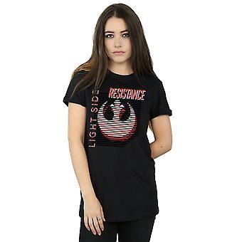 Star Wars Women's The Last Jedi Light Side Boyfriend Fit T-Shirt