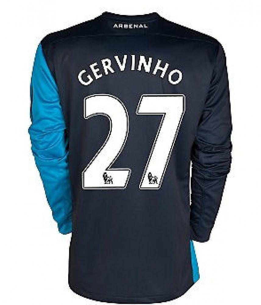 2011-12 Arsenal Long Sleeve Away Shirt (Gervinho 27)