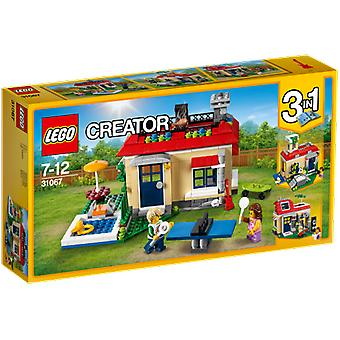 Lego 31067 Creator Modular Poolside Holiday (Toys , Constructions , Buildings)