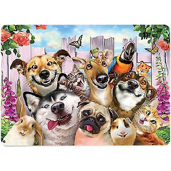 Selfie Wall Plaque - Cats, Dogs, Rabbit