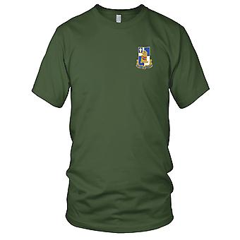 US Army - 122nd Infantry Regiment Embroidered Patch - Kids T Shirt