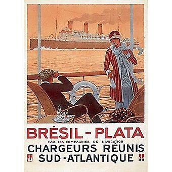 Bresil-Plata Poster Print by Paul Hook (19 x 26)