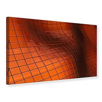 Canvas Print 3D Tiles