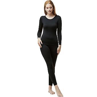 TSLA Tesla Blank WHS200 Women es Microfiber Fleece Lined Top und Bottom Set
