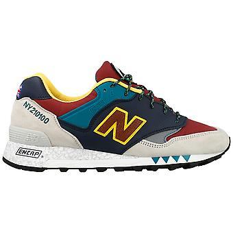 New balance men's M577NGB multicolour suede of sneakers