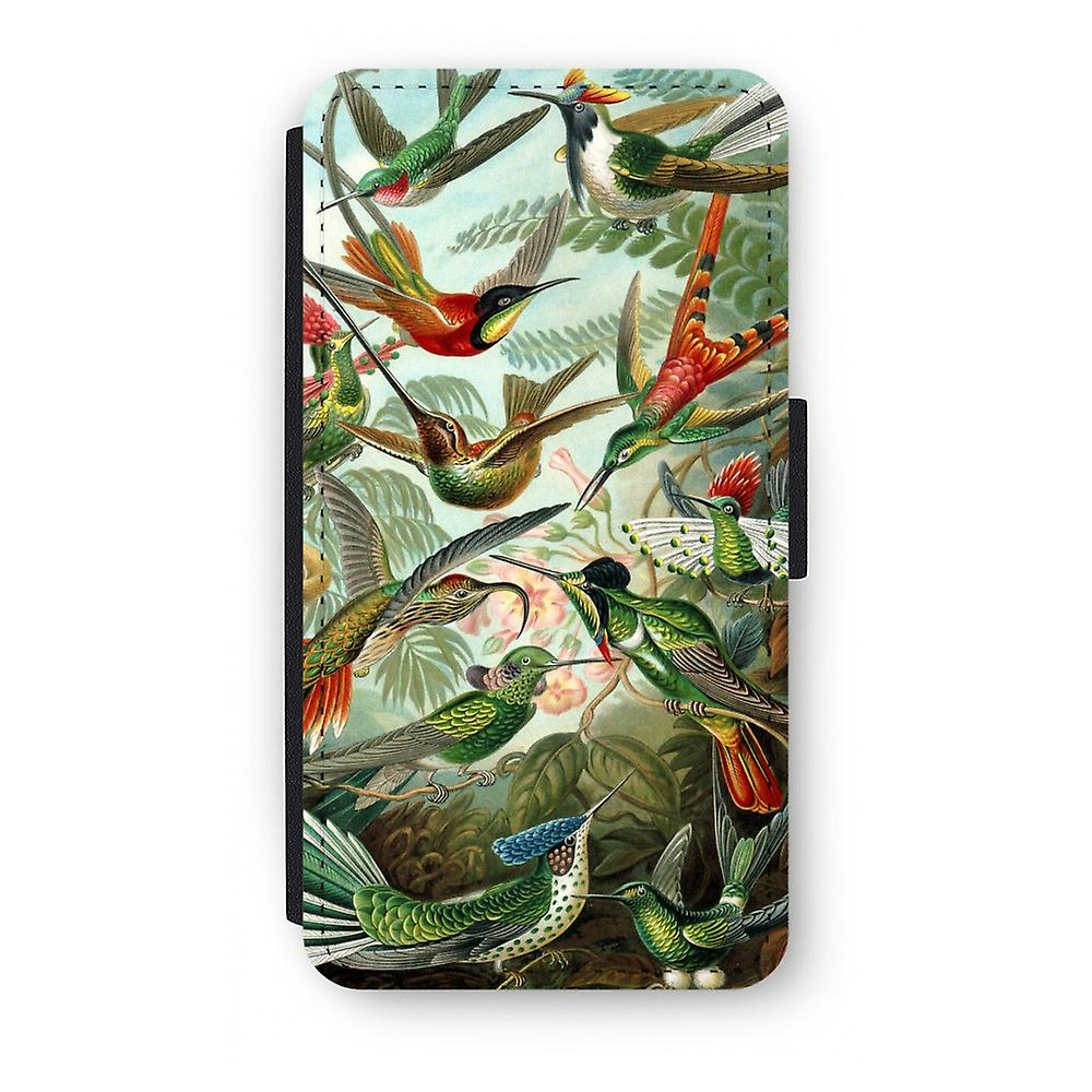 iPhone X Flip Case - Haeckel Trochilidae