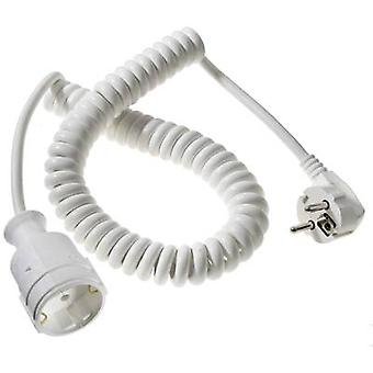 Current Extension cable 16 A White 2.50 m