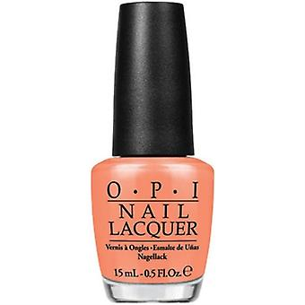 OPI Nail Lacquer Is Mai Tai Crooked? 0.5oz / 15ml