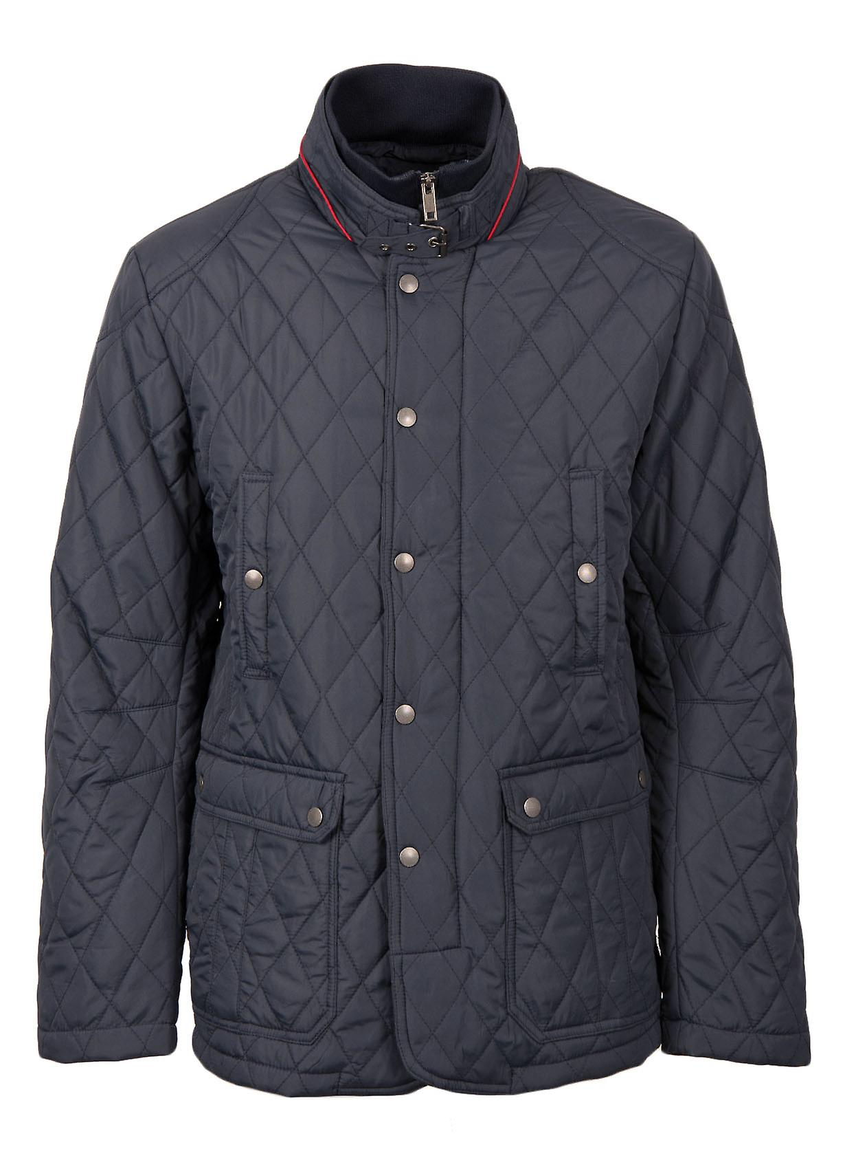 Quentin II Quilted Jacket in Navy