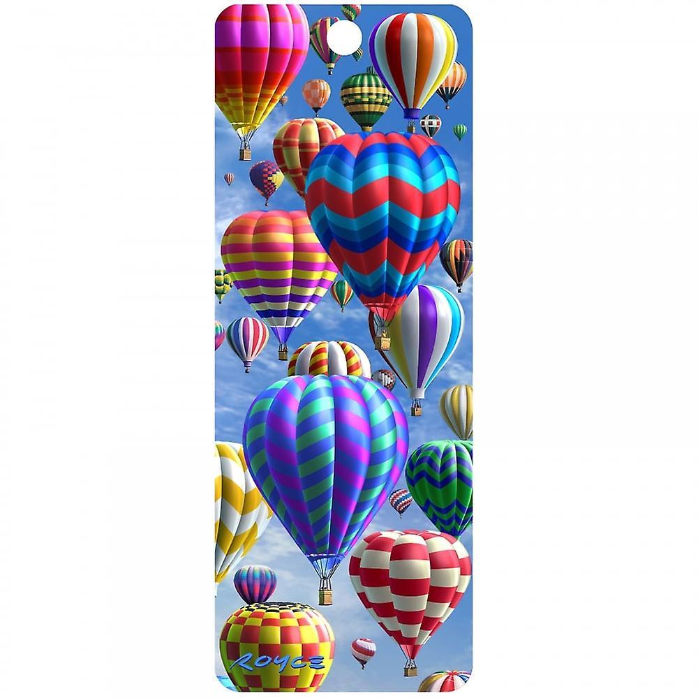 Cheatwell Games Royce 3D Bookmark - Hot Air Balloons
