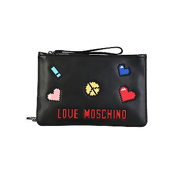 Love Moschino Women Clutch bags Black
