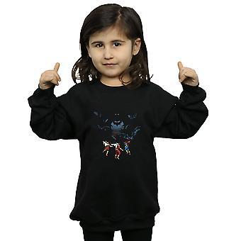 DC Comics Girls Batman Shadow Bats Sweatshirt