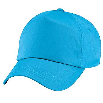 Beechfield Childrens Original Colours 5 Panel Adjustable Cotton Baseball Cap