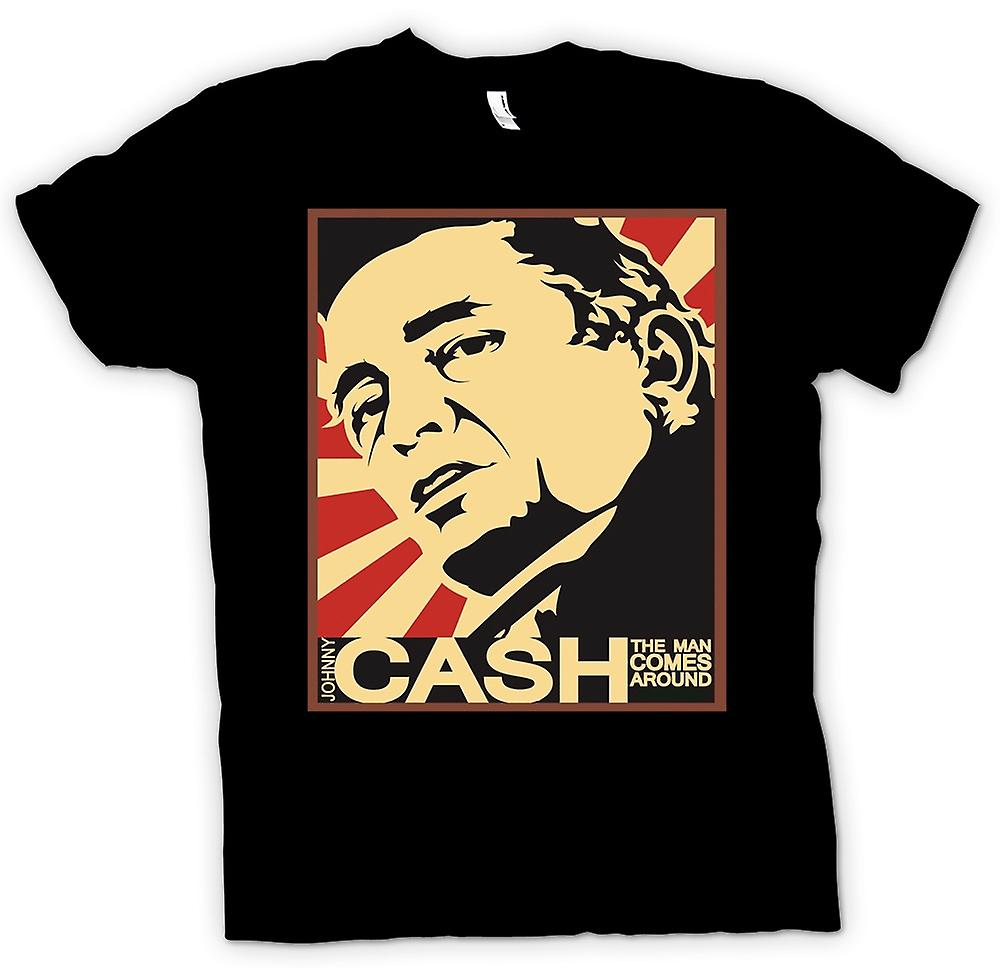 T-shirt - Johnny Cash - Man Comes Around
