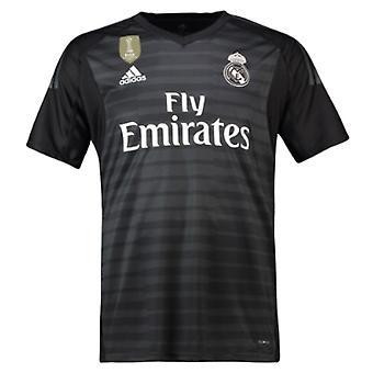 2018-2019 Real Madrid Adidas Home Goalkeeper Shirt