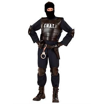 Swat Officer Man Costume