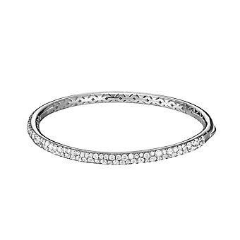ESPRIT collection ladies Bangle Bracelet-silver cubic zirconia Amalia ELBA91382A600