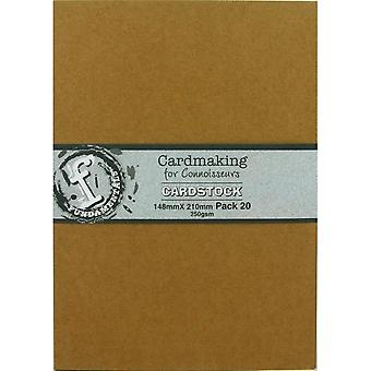 Fundamentals Cardmaking Unscored Cardstock 5.83
