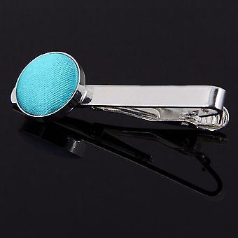 Robins Egg blau Plain Krawattenklammer