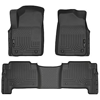 Husky Liners Front & 2nd Seat Floor Liners Fits 11-13 QX56, 14-17 QX80, 17 Armada
