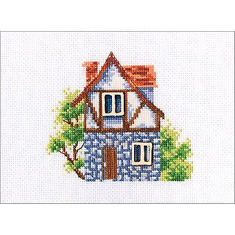 Rto Counted Cross Stitch Kit W/ Plywood Form 5