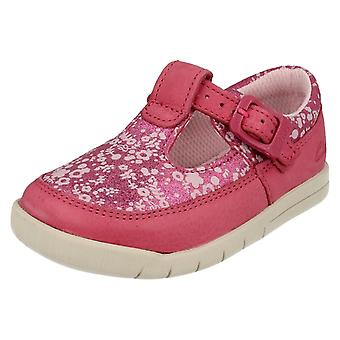 Infant Girls Clarks First T-Bar Shoes Crazy Tale