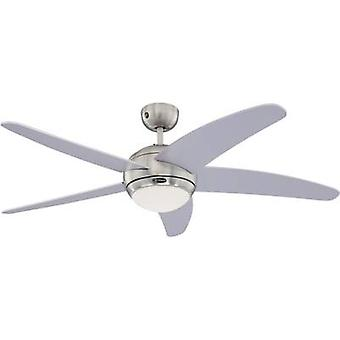 Westinghouse Bendan Ceiling fan (Ø) 132 cm Wing colour: Silver Case colour: Chrome