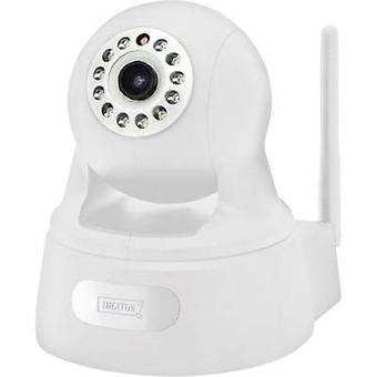 Digitus Plug&View OptiPan DN-16029 WLAN/Wi-Fi, LAN IP CCTV camera 1920 x 1080 pix