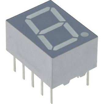 Vishay Seven-segment display Red 10 mm 1.8 V No. of digits: 1 TDSR1060