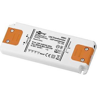 Goobay SET CC 500-12 LED LED driver Constant current 12 W 0.5 A 0 - 24 Vdc