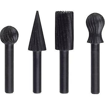 Bosch Accessories 2609255303 3-piece Fraserfeilen-Set for free-hand milling
