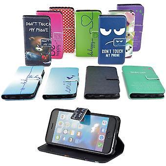 Handy Tasche für Acer Liquid Z330 Flip Cover Case Schutz Hülle Etui Motiv Wallet
