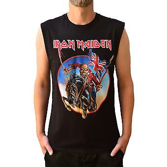 Amplified Iron Maiden Trooper Black Vest XS