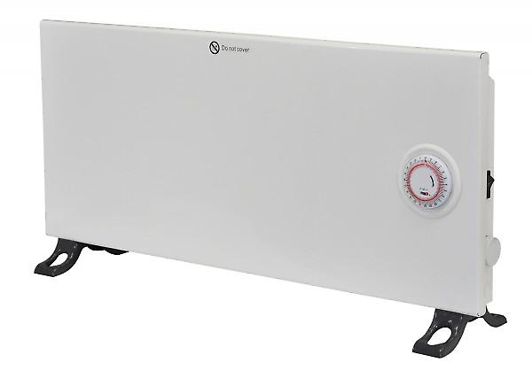 Prem-i-air Convection Panel Heater With Thermostat And Timer; 800w