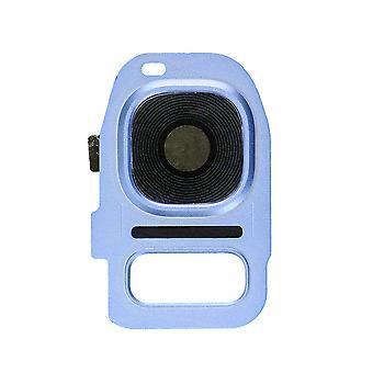 Blå Coral bak kameralinsen & holderen For Samsung Galaxy S7 kanten