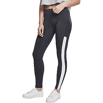 Urban classics ladies - TECH MESH leggings with pockets